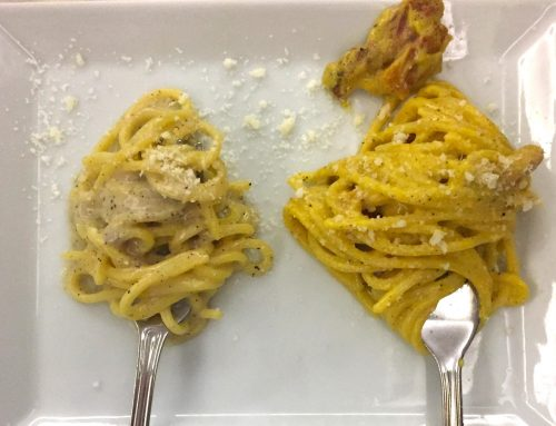 Carbonara Vs Cacio e Pepe